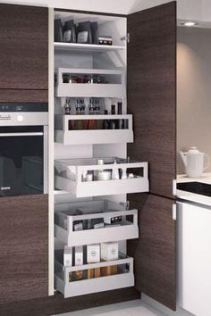 Une cuisine maxi rangements