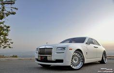 Rolls Royce Ghost on Forgiato wheels