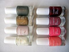 """Lumene Gel Effect nail polish spring collection, """"Elegance with a twist"""" - eight perfect shades for the upcoming season! #trend #nailpolish #lumene"""
