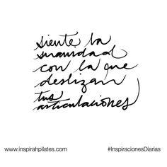 Siente la suavidad con la que deslizan tus articulaciones  #InspirahcionesDiarias por @CandiaRaquel  Inspirah mueve y crea la realidad que deseas vivir en:  http://ift.tt/1LPkaRs