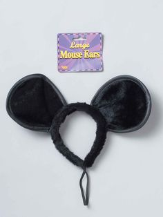 Large Mouse Costume Ears