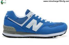 f8c06a88d5eb New Balance NB 574 Five Rings series White royal Blue For Men shoes Shoes  Shop Shoes