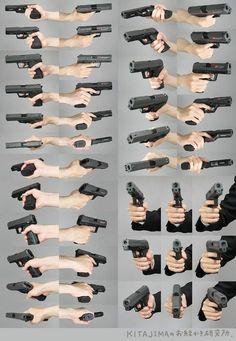 gun drawing reference: