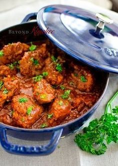 Malay Chicken Curry - substitute honey, or other natural sweetener, for the brown sugar and it's Paleo-friendly!Cape Malay Chicken Curry - substitute honey, or other natural sweetener, for the brown sugar and it's Paleo-friendly! South African Recipes, Indian Food Recipes, Asian Recipes, Ethnic Recipes, Asian Desserts, Malaysian Food, Malaysian Recipes, Malaysian Chicken Curry, Malaysian Curry