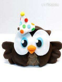 Owl Cake topper by mjtabush on Etsy, $28.00
