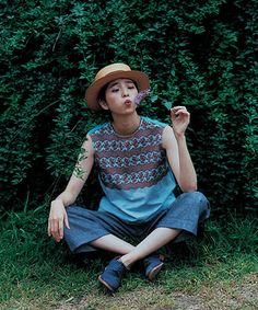 カットワーク×天竺ノースリーブ(Tシャツ/カットソー)|45R Lady's(レディース)のファッション通販 - ZOZOTOWN