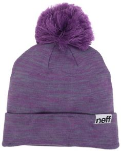 686b023fba9 neff Women s Heather Pom Beanie Hat