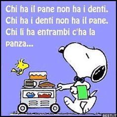 Chi ha il pane non Snoopy Love, Charlie Brown And Snoopy, Snoopy And Woodstock, Gruseliger Clown, Game Of Thrones, Snoopy Quotes, Peanuts Quotes, Joe Cool, Feelings Words