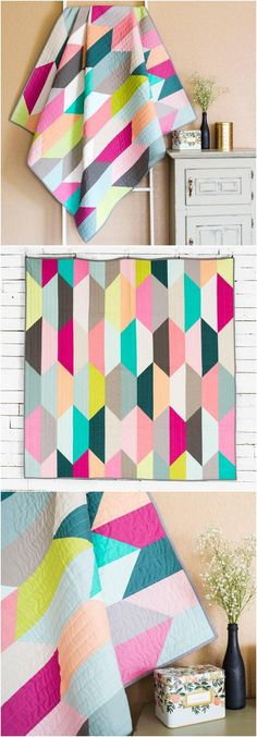 Suburbia Call me Contemporary Quilt Craftsy. Boundless solids quilt kit using pre-cuts. Modern solids quilt. #modernquilting #solidsquilt #quilting affiliate link.