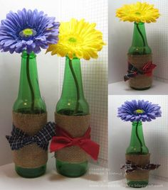 Danee's Stampin' Delights: Go Green Western Theme Centerpieces