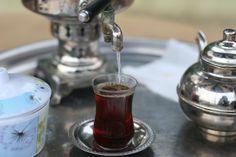 #Thé servi à la turc - #samovar