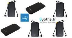 #Concours : une batterie externe 4000 mAh Novodio PureWatt Go à gagner ! {URL} #Byothe