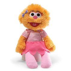 Sesame Street Zoe Take-Along Buddy 11 1/2-Inch Plush