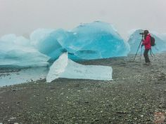 Photographing Diamond Beach Iceland