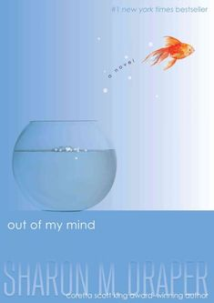 Out of my Mind by Sharon M. Draper, August 2016 Bookmark: Picks for Young Readers, Sandy Courtney, Youth Services Librarian