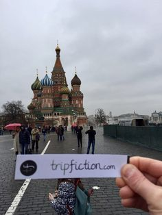TripFiction arrives in MOSCOW