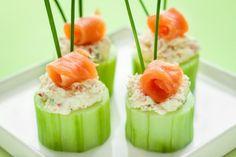 Antipasti finger food leggeri al salmone, la ricetta sfiziosa