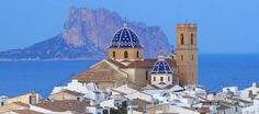 Such a stunning view from Altea Old Town Yoga Holidays, Spain Holidays, Health Retreat, Yoga Retreat, Vincent Spano, Valencia, Altea, Spanish Style, Alicante