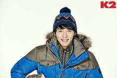 Hyun Bin for K2 FW14