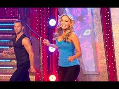 Dancing With The Stars: Swing Dance Workout - YouTube