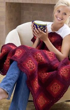 Blushing Grannies-FREE CROCHET PATTERN