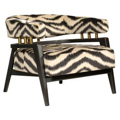 1960's Art Deco Chair   From a unique collection of antique and modern armchairs at http://www.1stdibs.com/furniture/seating/armchairs/