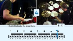 Double Stroke Rolls On The Toms - Free Drum Lessons Drum Sheet Music, Drums Sheet, Drum Lessons, Music Lessons, Drum Patterns, Drums Beats, Drum Solo, How To Play Drums, Double Bass
