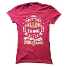 ALLEN THING T SHIRTS