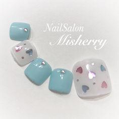 春/夏/オールシーズン/海/フット - NailSalon♡Misherryのネイルデザイン[No.2188284]|ネイルブック