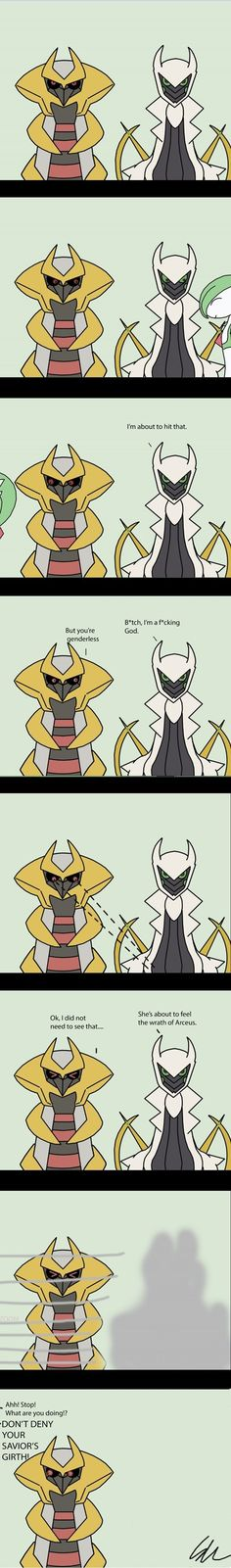 Don't Deny Arceus' Girth