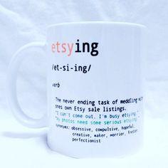 Reposting @monkeybutlerdesigns: Etsy Seller Definition Coffee Mug - Sell on Etsy? Then you\'ll understand.  #etsy #etsyshop #etsyseller #handmade #etsyfinds #etsystore #etsysellersofinstagram #etsygifts #etsysellers #shopsmall #etsyelite #etsyorder #etsysmallbusiness #shopetsy #etsyshops #etsyshopowner #coffee #coffeetime #coffeelover #coffeebreak #coffeegram #coffeelife #funny #lol #gift #giftsforher #giftideas #gifts #giftsformom #giftideasforher