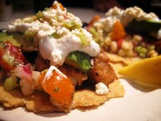 Fish Tacos! My Charred Corn Salad reinvention