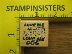 """""""Love Me Love My Dog"""" by Kidstamps"""