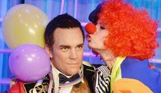 carnevale ecirco per Robbie Williams