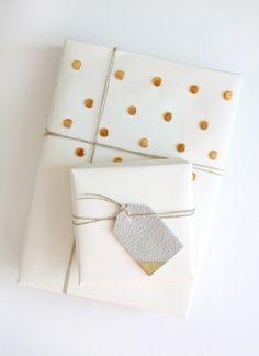 DIY besetzt Geschenkpapier