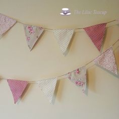 Rustic style bunting.