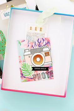 Crate Paper   Vacation Mini Album Box