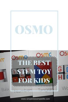 STEM toys have become very popular and for good reason! A review of the STEM toy, OSMO is provided in this article!
