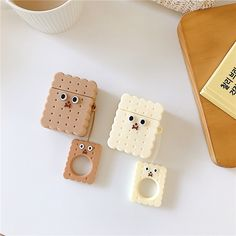 Cute Airpod Case Cover For AirPods Case Cartoon Silicone Cover for Apple Air pods 2 Cute Airpod Case Cover Earbuds Bag for Earpods Cases Ring Accessoires Iphone 7, Iphone Cases, Airpods Apple, Buy Phones, Earphone Case, Air Pods, Airpod Case, Best Laptops, Cute Cookies