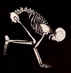 skeleton bakasana makes me happy..