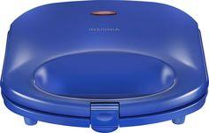 Insignia™ - Dual Waffle Maker - Blue, NS-WM2CBL7