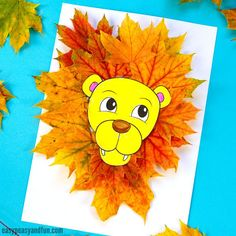 Go on a wonderful nature craft and pick up some colorful leaves while you are at it as you'll need them to make this wonderful lion leaf craft! This one is great to make on your own, or with the use of our printable lion leaf craft template (handy for a classroom project). *this post …