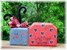 Lucy Ladybug Brick Crafts, Concrete Crafts, Stone Crafts, Concrete Pavers, Concrete Blocks, Painted Pavers, Painted Pots, Painted Bricks, Rock Painting Designs