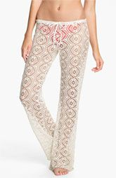 Becca Crochet Cover-Up Pants available at Nordstrom.