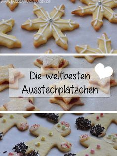 Years ago I found a cookie recipe while browsing - no, it& .- Vor Jahren habe ich beim stöbern ein Plätzchen Rezept gefunden – nein, es ist … Years ago I rummaged through a cookie recipe … - Christmas Sweets, Christmas Baking, Christmas Cookies, Cookies Et Biscuits, Cake Cookies, Worlds Best Cookies, Cookie Recipes, Dessert Recipes, Mary Berry