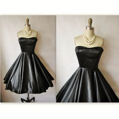 50's Cocktail Dress // Vintage 1950's by TheVintageStudio on Etsy, $112.00