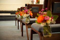 Church decor for aisles!