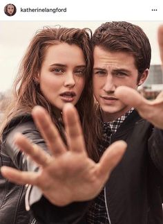 13 Reasons Why Stars Dylan Minnette and Katherine Langford for Entertainment Weekly: See the Breathtaking Photos 13 Reasons Why Reasons, 13 Reasons Why Netflix, Entertainment Weekly, Gilmore Girls, Gossip Girl, Mtv, Shadowhunters, Wattpad, Film Serie