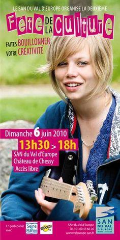 Fête de la Culture du San Val d'Europe - Partenariat la-seine-et-marne.com - 2010