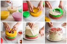 Perfect Pinata Cake    Cake Recipes -  at Bakers' Corner